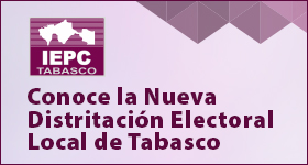 Distritación Electoral Local de Tabasco